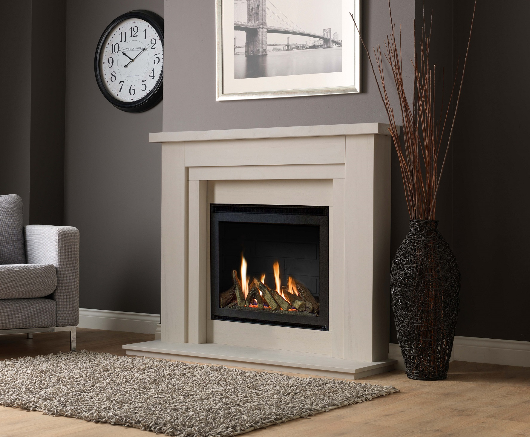 Hanley-54-Limestone-with-chelsea-gas-log-fire